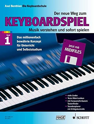 New Way Of Understanding And Playing Keyboard: Composer-Axel Benthien