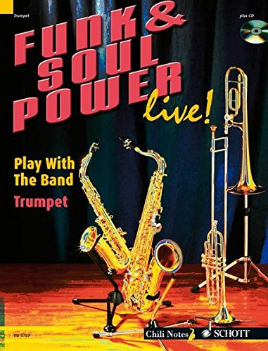 9783795757243: FUNK & SOUL POWER LIVE] PLAY WITH THE BAND TRUMPET BOOK/CD