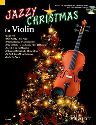 Jazzy Christmas for Violin Book and CD: Dirko Juchem, Achim