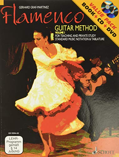 9783795757687: Flamenco Guitar Method Volume 1: Book/CD/DVD Pack (Schott)