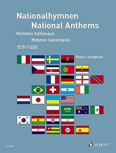 9783795757724: National Anthems Piano/Vocal Book