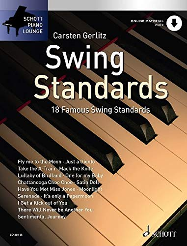 9783795758295: Piano Lounge Collection Swing Standards + Cd