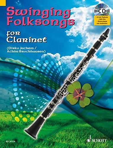Swinging Folksongs for Clarinet [With CD (Audio)]: Juchem, Dirko
