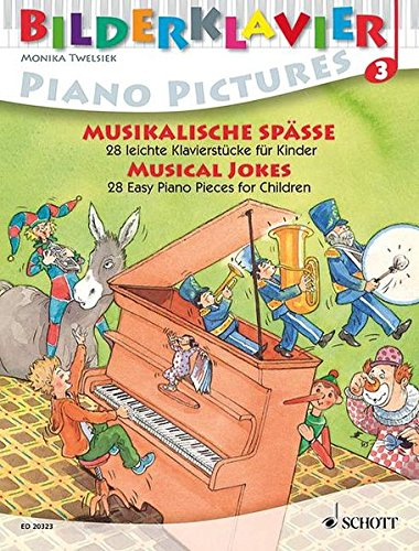 9783795758752: Musical Jokes: Piano Pictures, Volume 3 (Bilderklavier / Piano Pictures / Piano a Images)