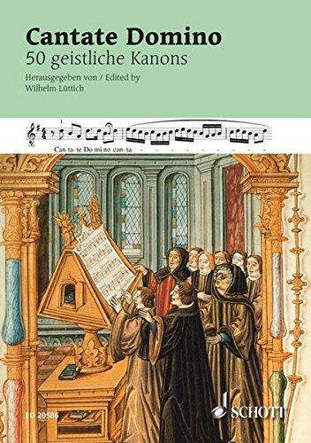 9783795759285: Cantate Domino: 50 geistliche Kanons