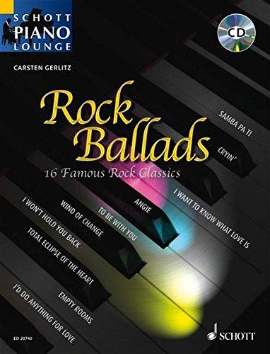 Rock Ballads: 16 berühmte Rock-Klassiker, z.B. Angie,