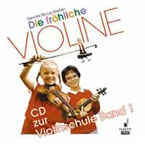 9783795760038: Die fröhliche Violine Band 1. CD.