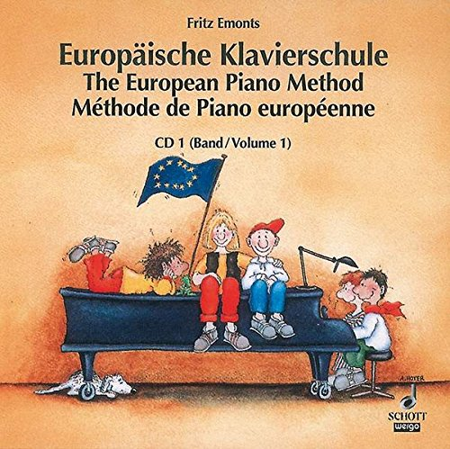 9783795760045: European Piano Method Band 1