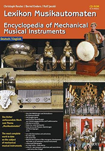 9783795760144: Encyclopedia of Mechanical Musical Instruments
