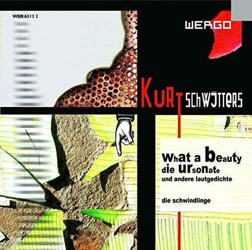 9783795760380: What a Beauty: Die Ursonate und andere Lautgedichte. Dt. /Engl.