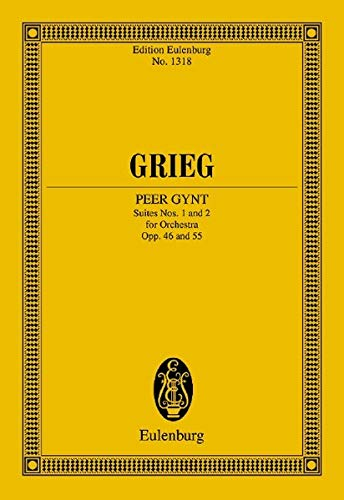 9783795761097: PEER GYNT SUITES NO1 & NO2 FOR ORCHESTRA OP46 OP55 SCORE