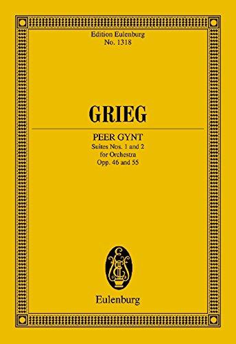 9783795761097: Peer Gynt Suiten Nr. 1 und 2: op. 46 / op. 55. Orchester