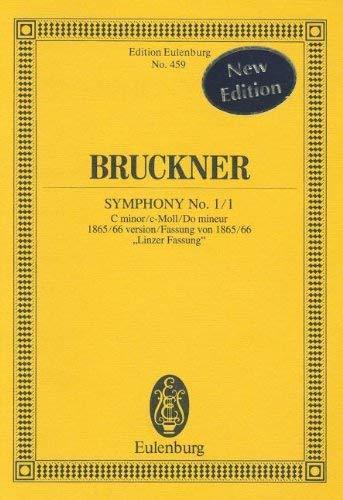 9783795761134: Sinfonie Nr. 1/1 c-Moll: Fassung von 1865/66