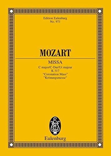 "Missa C-Dur: ""Krönungsmesse"". KV 317. 4 Soli,"