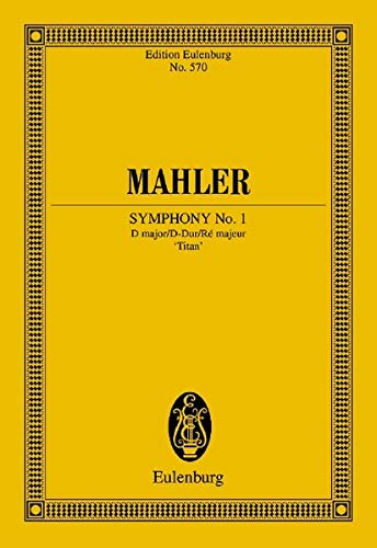 9783795761363: Symphony No. 1 in D Major