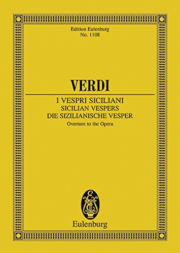9783795761400: Die sizilianische Vesper: Ouvertüre. Orchester. Studienpartitur