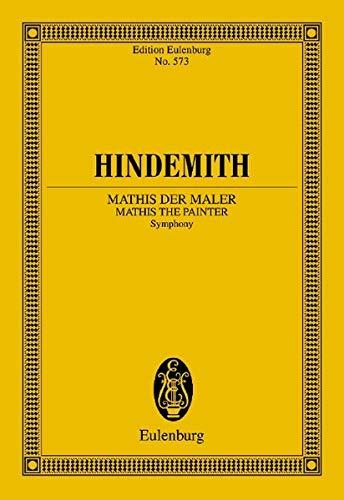 9783795761738: Mathis der Maler (1934): Symphony for Orchestra