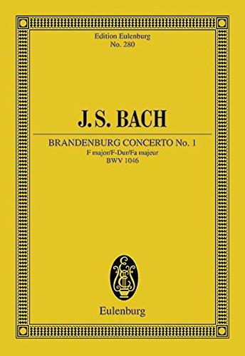 9783795761967: Brandenburg Concerto No. 1 in F Major, BWV 1046
