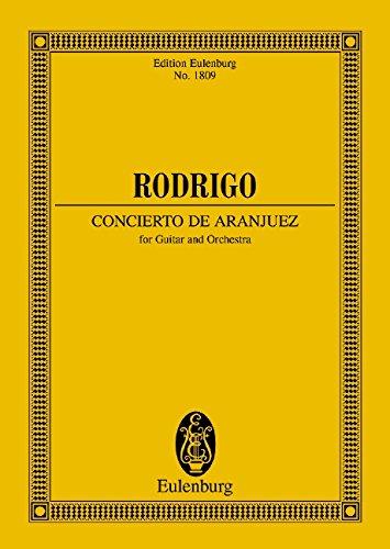 9783795762421: Concierto de Aranjuez: Gitarre und Orchester