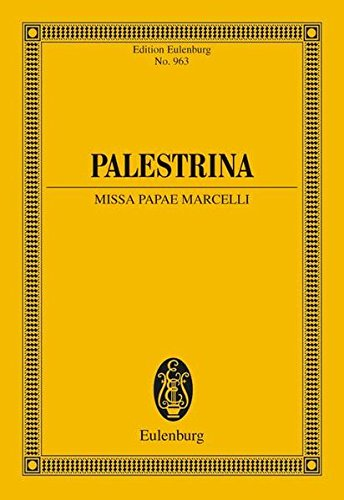 MISSA PAPAE MARCELLI SSAATTBB A CAPPELLA CHORAL