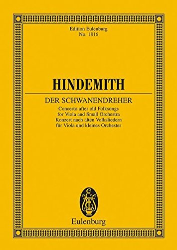 9783795762834: SCHWANENDREHER FOR VIOLA AND SMALL ORCHESTRA STUDY SCORE (Edition Eulenburg)