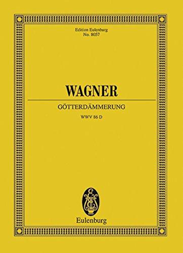 9783795763091: Gtterdmmerung Wwv 86 D (Edition Eulenburg No. 8057)