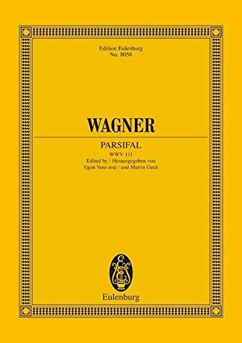 9783795763374: Parsifal WWV 111: Urtext Edition