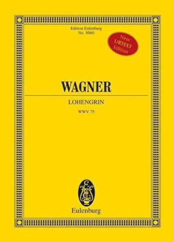 Lohengrin WWV 75, Studienpartitur: Richard Wagner