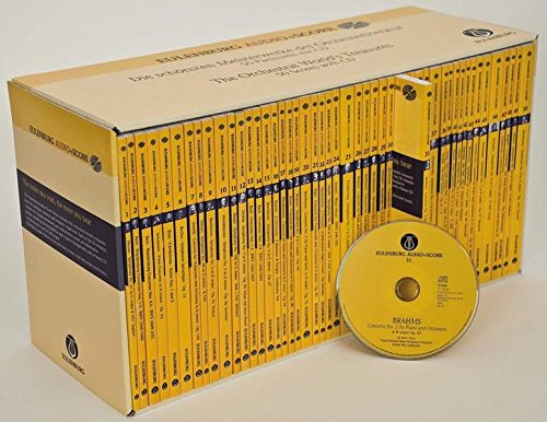9783795764982: Eulenburg Audio Scores Complete Box Set: 50 Study Scores with CDs