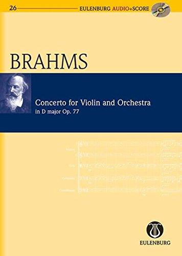 9783795765262: Violin Concerto in D Major Op. 77: Eulenburg Audio+Score Series