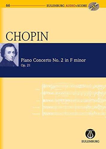 9783795765668: PIANO CONCERTO NO. 2 IN F-MINOR OP. 21 STUDY SCORE WITH CD (Eulenburg Audio+Score)
