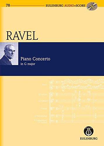 9783795765781: Klavierkonzert G-Dur: Klavier und Orchester (Eulenburg Audio+Score)