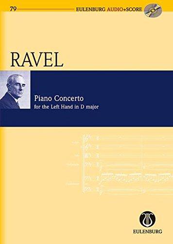 9783795765798: Piano Concerto for the Left Hand D Major: Study Score + CD (Eulenburg Audio+Score)