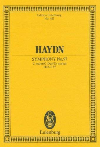 Symphony No. 97 in C Major: Study Score - Joseph Haydn (Composer)