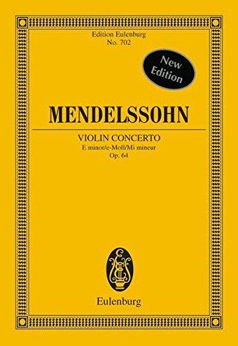 9783795766306: Violin Concerto Op. 64 E Min