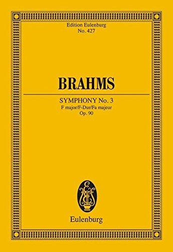 9783795766542: Symphony 3 Op. 90 F Maj.