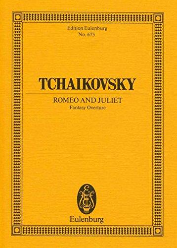 9783795766641: ROMEO AND JULIET FANTASY OVERTURE STUDY SCORE (Edition Eulenburg)