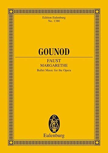 9783795766740: Faust (Margarethe): Ballettmusik aus der Oper. Orchester. Studienpartitur