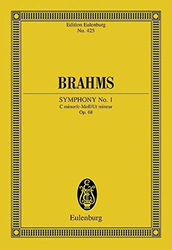 9783795766825: Symphony No. 1 in C Minor, Op. 68