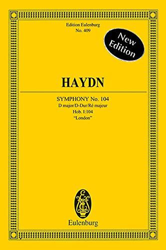 9783795766986: Symphonie 104 d Poche (Edition Eulenburg)
