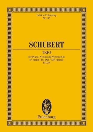 9783795767785: Klaviertrio Es Op.100 D929 Poche (Edition Eulenburg)