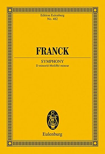 9783795768287: Symphony in D Minor: Study Score (English, German and French Edition)
