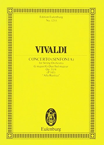 9783795768652: Concerto G-Dur:
