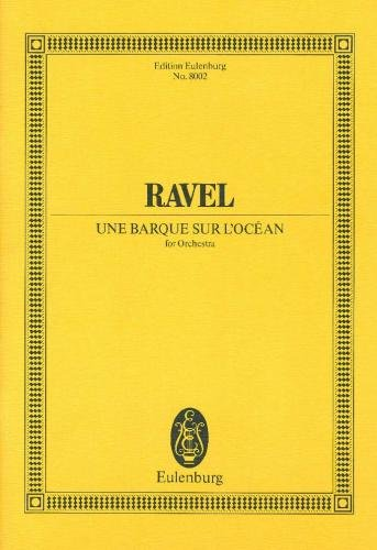 9783795768782: Ravel Une Barque Sur L'ocean O (Schott)