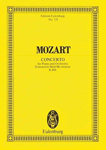 9783795768850: PIANO CONCERTO NO20 K466 D MINOR STUDY SCORE (Edition Eulenburg)