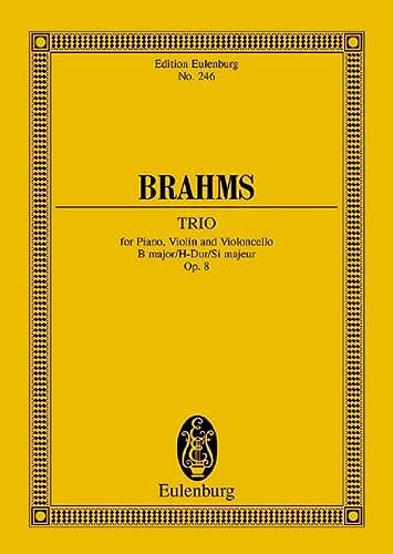 9783795769352: Piano Trio in B Major, Op. 8