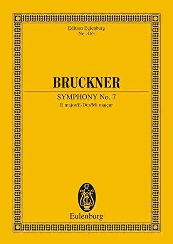 9783795769567: SYMPHONY NO7 E MAJOR (NOWAK EDITION) STUDY SCORE (Edition Eulenburg)