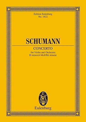 9783795769840: Konzert d-Moll: Violine und Orchester (Edition Eulenburg)