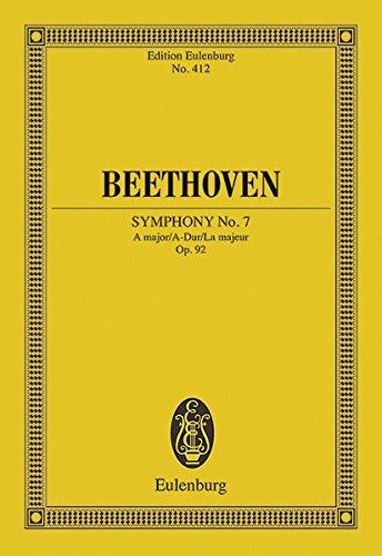 Sinfonie Nr. 7 A-Dur : op. 92. Orchester. Studienpartitur. - Ludwig van Beethoven