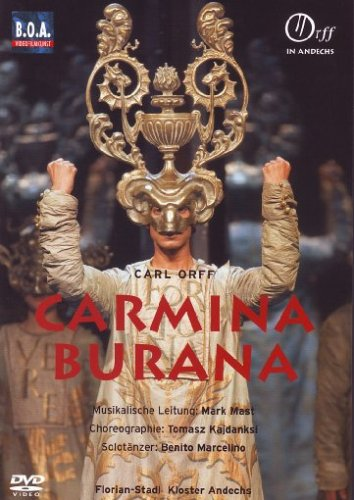 9783795778309: Carl Orff:Carmina Burana [Import allemand]